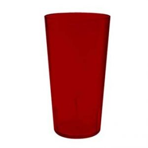 Tumbler 24OZ Melamine RED Stackable 6DZ