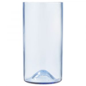 "Tumbler 16OZ H5.75"" Wine Bottle Blue 1DZ"