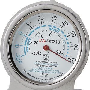 "Thermometer Refrigerator/Freezer 3"" Dial 1EA"